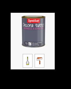 SYNTILOR- DECORA TUTTO VERNICE A EFFETTO 0,50 LT INCOLORE GLITTER