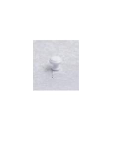 ORECA - 1 POMOLO TONDO IN ZAMA BIANCO 19X17mm