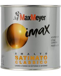 MAX MEYER - IMAX SMALTO A SOLVENTE SATINATO CLASSICO BIANCO GHIACCIO LT 0,500