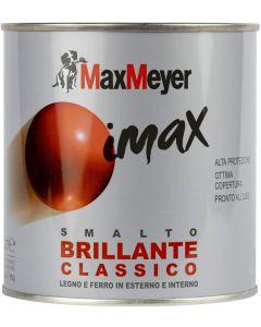 MAX MEYER - IMAX SMALTO A SOLVENTE BRILLANTE CLASSICO GRIGIO CEMENTO LT 0,500