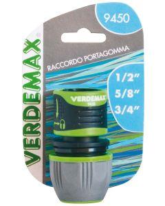 VERDEMAX 9450 - RACCORDO PORTAGOMMA 1/2-5/8-3/4