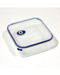 5.0 litri, contenitori per alimenti con sacchetti valvola di chiusura e quattro clip