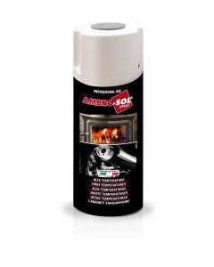Ambro-Sol V400TEMP2 Smalto Alte Temperature, Alluminio, 400 ml
