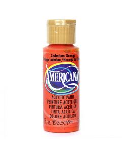 Artdeco DecoArt - Americana Cadmium Orange