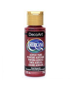 Artdeco DecoArt, Vernice acrilica Americana, 56,7 g, Colore: Mora Deep Burgundy