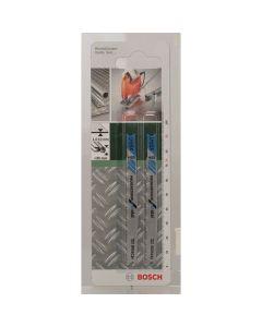 Bosch 2609256770 HSS - U 123 X - Lama per seghetto alternativo per lamiere e tubi, spessore da 1,5 a 10 mm