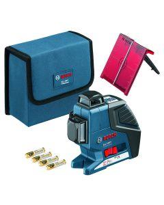 Bosch, BOSCH, Livella laser a croce GLL 3-80 P, 601063305 [Classe di efficienza energetica A]
