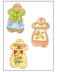 COUNTRY PAINTING - KIT TO-DO CON SCHEDE E SAGOMA GINGERBREAD - SCHEDA 14