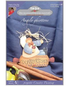 COUNTRY PAINTING - KIT TO-DO CON SCHEDE E SAGOMA - SCHEDA 47