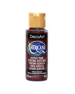 DecoArt Americana Acrilico Multiuso Vernice, Antico Maroon