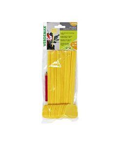 Etichetta in plastica + matita (cm 20 - 25 pezzi)