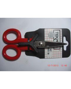 Forbici, corto con manico in plastica resistente, 145 mm