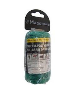 TRECCIA IN POLIPROPILENE VERDE 1,7MM X 50MT MAGGI GROUP