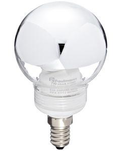 Paulmann 88075 Lampadina a risparmio energetico a globo 60 7 W E14 , Colore Argento