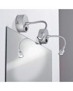 Paulmann Mirror Herba I LED 1x1W Titan 230/12V Metall
