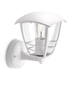 Philips - Creek Lampada da Parete da Esterno in Alluminio, Bianco