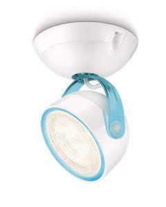 Philips myLiving Lampada con Faretto, Bianco/Blu [Classe di efficienza energetica A+]