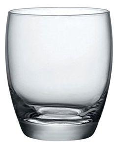 Rocco Bormioli Bormioli Rocco 1323830 Fiore l'Eau Confezione 6 Bicchieri in Vetro, 30 cl