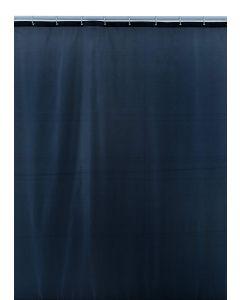 Shark 012/201731 Tenda Doccia, Tessuto di Poliestere, 180 cm x Altezza 200 cm, Grigio zincato
