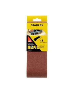 Stanley STA33101-XJ 3 NASTRI ABRASIVI 75X457 MM. GRANA 80
