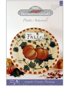 TO-DO - COUNTRY PAINTING - PIATTO AUTUNNALE PROGETTO 7