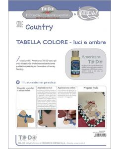 TO-DO - TABELLA COLORE-LUCI E OMBRE COUNTRY PAINTING
