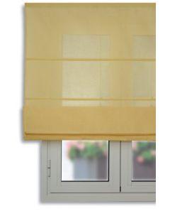 Tendina oscurante con aste, colore giallo 120 / 175 cm giallo