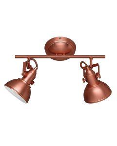 Trio Lighting R80152029 Gina Faretto ( IP20, 230 V, 40 W), Rame [Classe di efficienza energetica A]