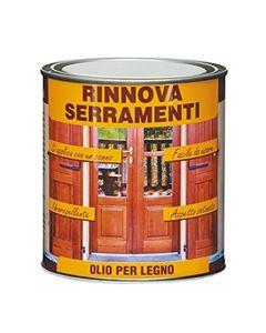 Veleca 8002417040886 Rinnova Serramenti,Olio per Legno, Trasparente
