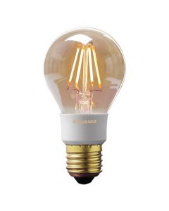 Sylvania 0027112 Toledo Lampada a LED dimmerabile, dorato, stile retr