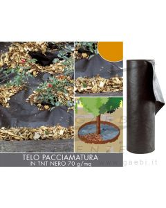 VERDEMAX 6591 1,6 x 10 m Tessuto Non Tessuto pacciamatura