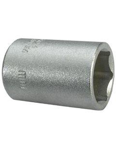 CONNEX-BUSSOLA ESAGONALE 1/4 CROMATA S/S 10 MM
