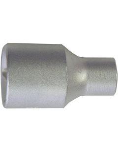 CONNEX-BUSSOLA ESAGONALE 1/2 CROMATA S/S 8 MM