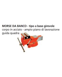 ORECA-MORSE BASE GIREVOLE IN  ACCIAIO FORGIATO MM100