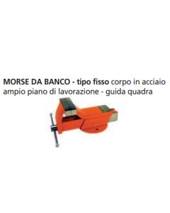 ORECA-MORSA DA BANCO BASE FISSA IN ACCIAIO FORGIATO MM100