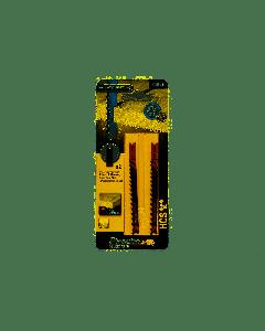 BLACK&DECKER PIRANHA 2 LAME PER SEGHETTO LEGNO TAGLI RAPIDI 100x4.0mm X25522
