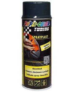 DUPLI COLOR- SPRAYPLAST  400 ML CARBONE SATINATO