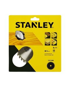 STANLEY LAMA PER SEGA CIRCOLARE DENTI MEDI DIAMETRO 170MM FORO 16MM STA13125