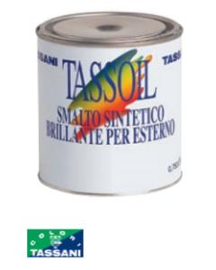 TASSANI TASSOIL - SMALTO SINTETICO BRILLANTE PER ESTERNO 750 ML OCRA