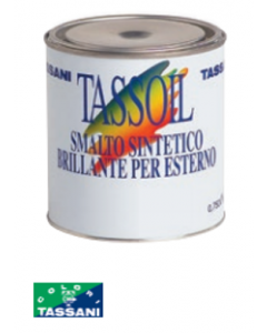 TASSANI TASSOIL - SMALTO SINTETICO BRILLANTE PER ESTERNO 750 ML AVORIO